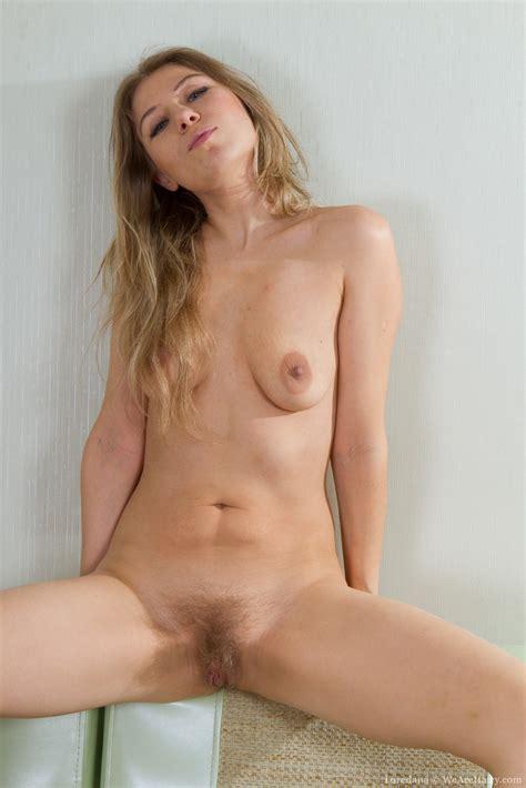 Hairy Woman Loredana Gives Seductive Strip Tease