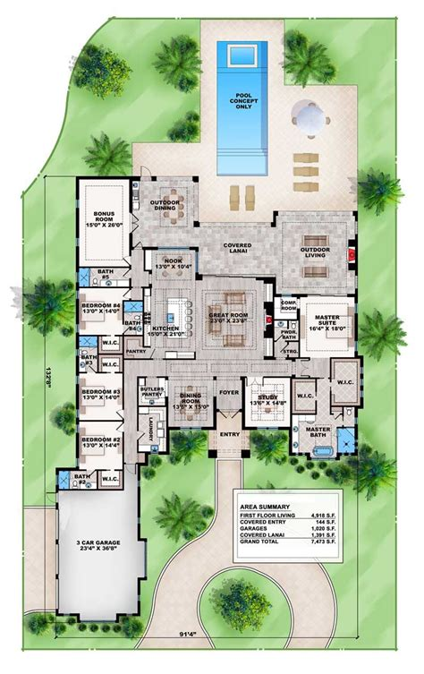 outdoor living floor plans plan 86031bw contemporary house plan with outdoor living
