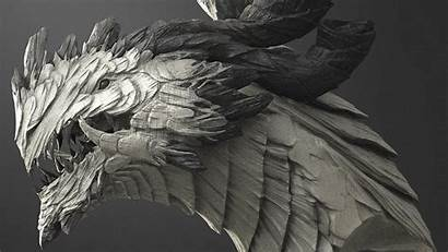 Zbrush Dragon Sculpt Sculpting Tutorial Chinese Speed