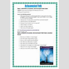 An Inconvenient Truth  Esl Worksheet By Ayshr