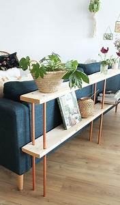 Console Derriere Canapé : tuto fabriquez un derri re de canap en bois design ~ Melissatoandfro.com Idées de Décoration