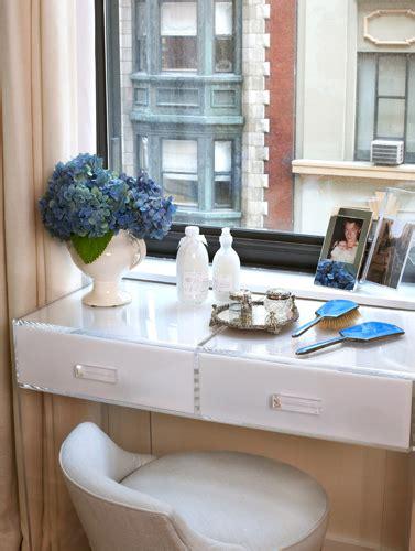floating makeup vanity floating vanity contemporary bedroom robyn karp