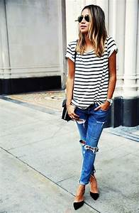 45 Ripped Jeans Outfit Ideas every stylish girl should try ...