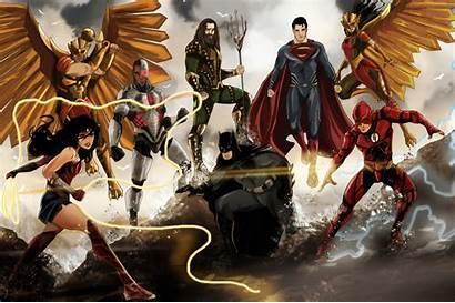 Justice League 4k Wallpapers Pixel Artwork Chromebook