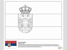 Flag of Serbia coloring page Free Printable Coloring Pages