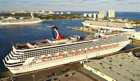 Fort Lauderdale Cruise Ship Port - Cruise Panorama