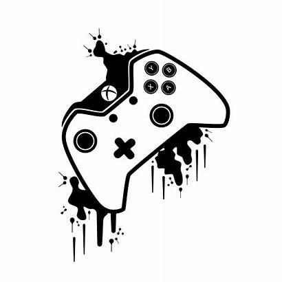 Xbox Controller Gaming Painting Mando Wallpapers Tenorarts