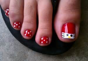 Gallery for gt hello kitty toes designs
