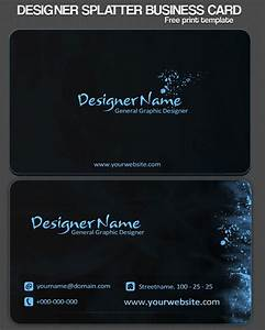 40 best free business card templates in psd file format for Best business card templates