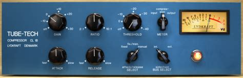 audio compressors vca fet and other compression circuit types