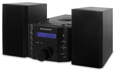 Magnasonic Mag-ms857 Cd Player Stereo Speaker Micro System