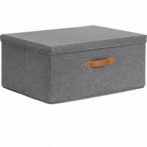 Ordnungsbox Mit Deckel : ordnungsbox mit deckel 54x40 cm grau store it yomonda ~ Udekor.club Haus und Dekorationen