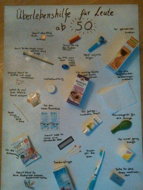 Fantastische Ideen Lustige Geschenke Zum 50 Geburtstag