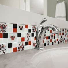 1000 images about bathroom on pinterest mickey bathroom for Kitchen colors with white cabinets with mickey mouse clubhouse stickers