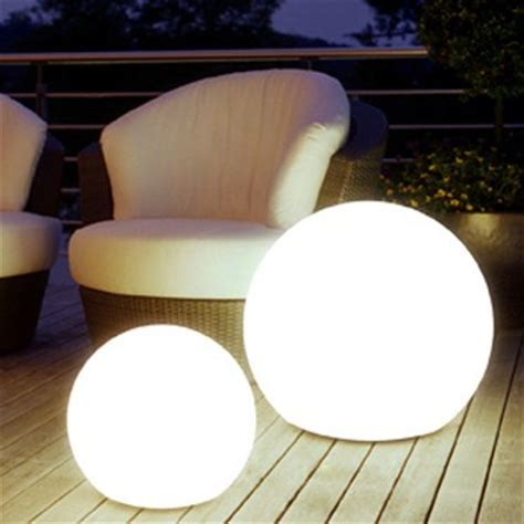 outdoor light balls led color changing waterproof