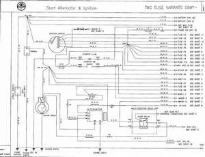 Alternator Harness Schematic  - Lotustalk