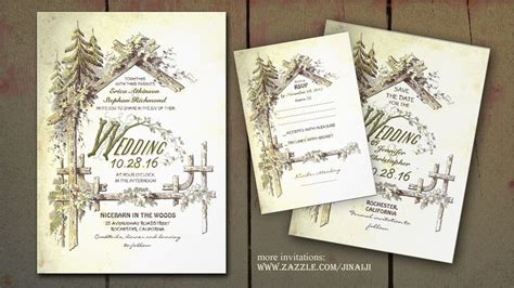 Barn Wedding Invitations : The Barn Wedding Invites With Old Farmhouse And Trees