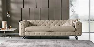 The Ingrid Sofa And Loveseat From Max Divani Italy Tufted