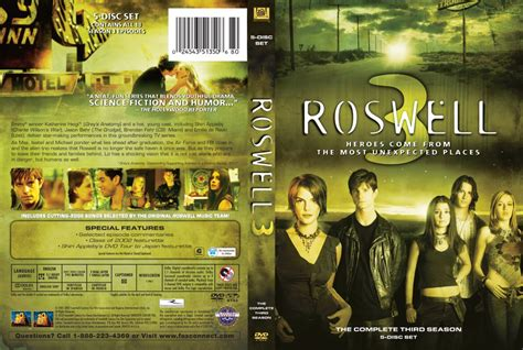 Roswell - Season 3 - TV DVD Scanned Covers - Roswell ...