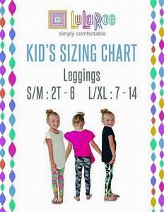 Kids Sizes Lularoe Business Ideas Pinterest