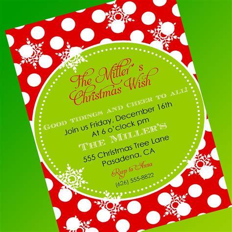 free printable christmas invitations template free invitation template invitations