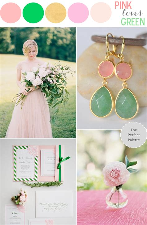Color Story  Pink Loves Green!  The Perfect Palette