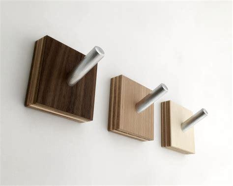 Wall Hooks Modern Wood Coat Hooks Minimalist Modern