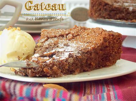 recette gateau au chocolat avec jaune d oeuf uniquement