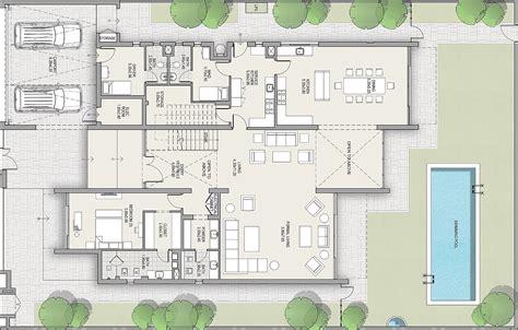 Villa Floor Plan by District One Villas Floor Plans