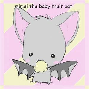. mimei the baby fruit bat . by saru--chan on DeviantArt