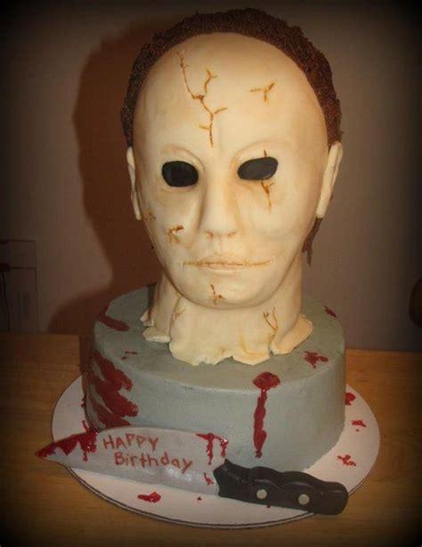 michael myers halloween  debescakes  cakesdecorcom