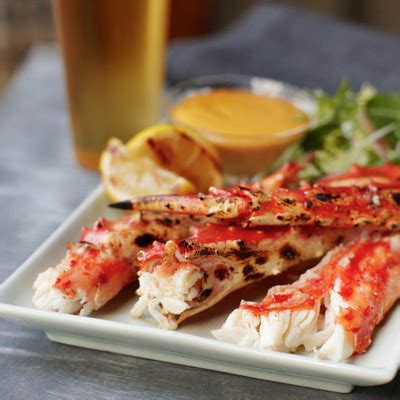 broiled king crab legs grilled alaska king crab with tabasco 174 aioli alaska s finest seafood
