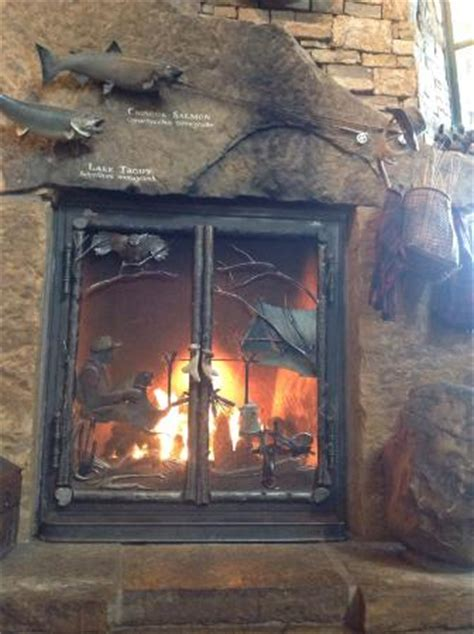 fireplace picture  bass pro shops outdoor world
