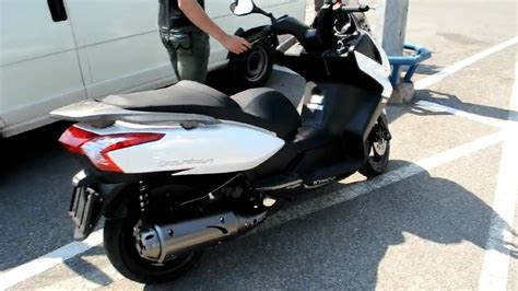 kymco downtown   short test ride youtube