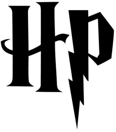 harry potter hp initials vinyl decal