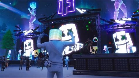 fortnite battle royale marshmello concert  event