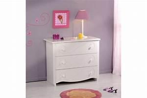 Commode Pour Bébé : commode pour chambre enfant blanc laqu astrid design sur sofactory ~ Teatrodelosmanantiales.com Idées de Décoration