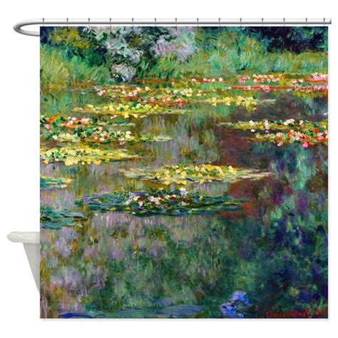 Monet  Le Bassin Shower Curtain By Designdivagifts2