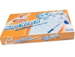 magicreach mr clean scrubbing tub shower mop refill pad