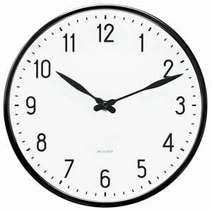Arne Jacobsen Wanduhr : arne jacobsen wanduhren 43633 design wanduhr station ~ Sanjose-hotels-ca.com Haus und Dekorationen
