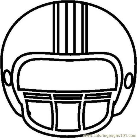 football helmet template football clip clipartandscrap