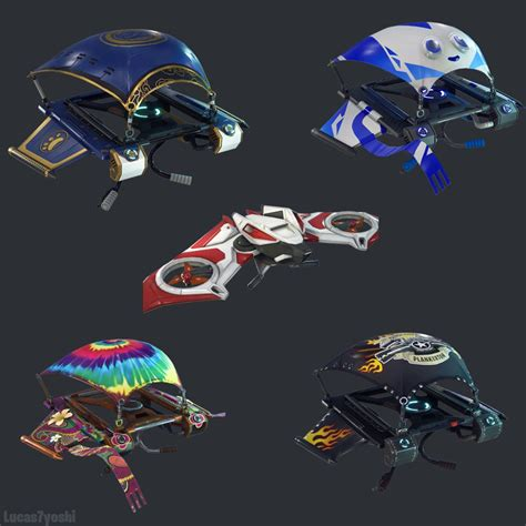fortnite datamine uncovers  skins gliders pickaxes