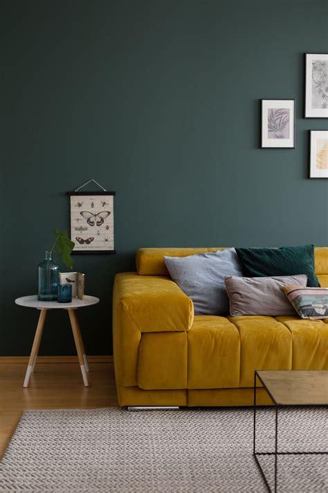 Wandfarbe Grün Blau by Die Sch 246 Nsten Ideen F 252 R Die Wandfarbe Im Wohnzimmer In