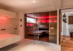 Sauna Mit Glasfront : sauna im badezimmer corso sauna manufaktur ~ Whattoseeinmadrid.com Haus und Dekorationen