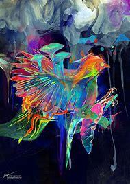 Colorful Digital Art Illustration