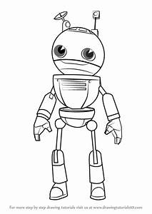 Step By Step How To Draw Tagbot From Subway Surfers