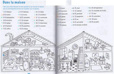 de la maison en anglais cp vocabulaire dans la maison jpg images frompo