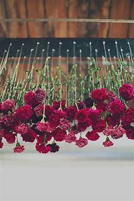 Flowers for Hanging From Ceiling Wedding Decor