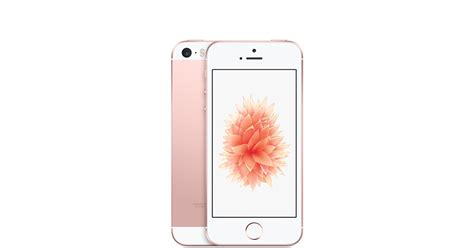 rosegold iphone iphone se 16gb gold apple