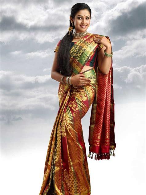 kalyan silks silk saris  south india pinterest